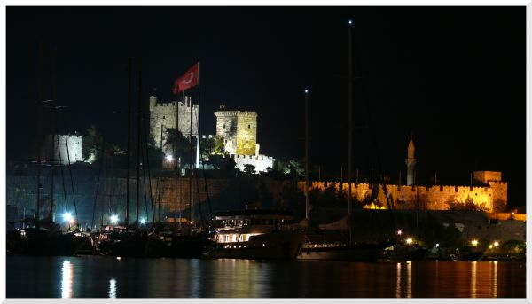 The castle of Bodrum