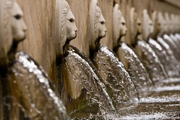 Crete 2010  #5  Spili Venetian fountain lionheads