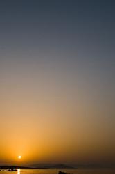 Crete 2010 #32  Chania sunset