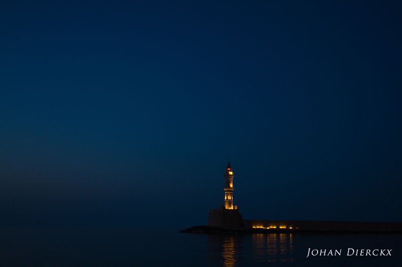 Crete 2010 #35  Chania lighthouse