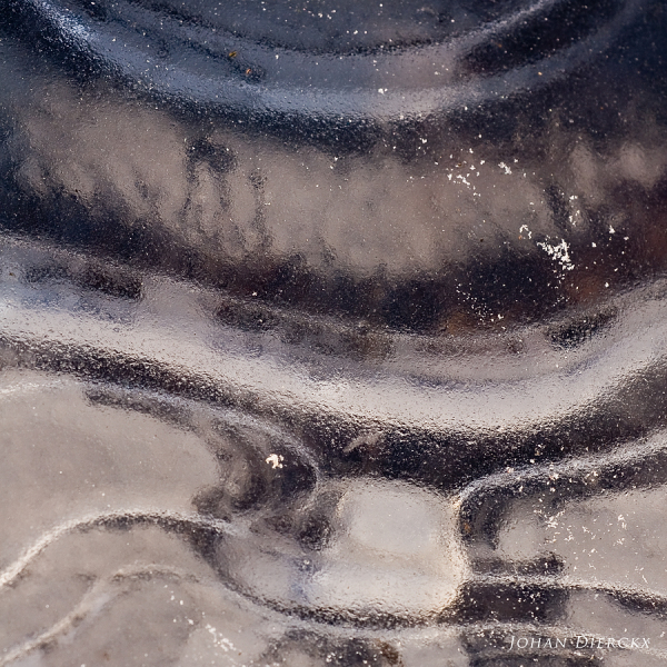 Textures and colors of ice #1