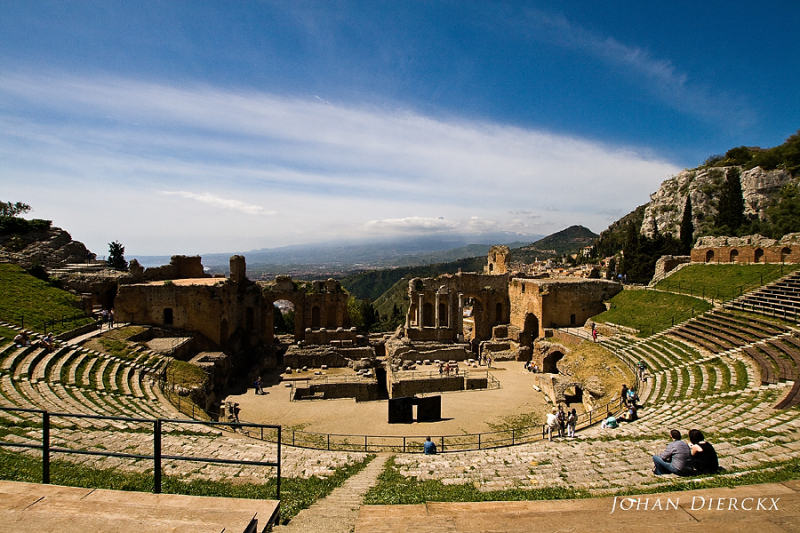 Taormina - Ancient theatre