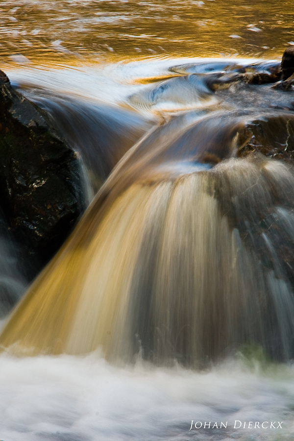 Textures and colors of water #3