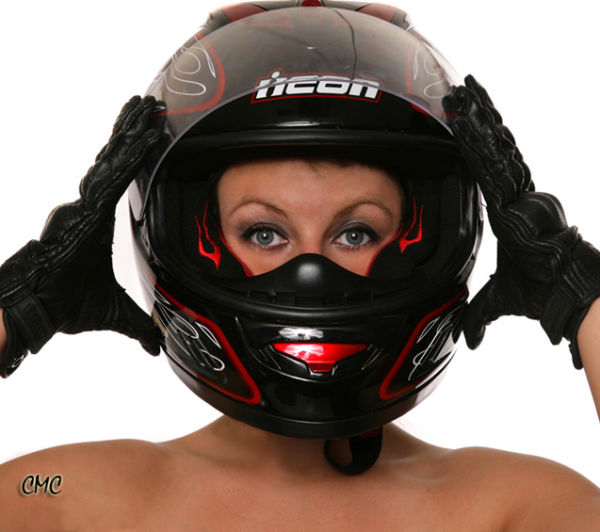 The Helmet / ready to ride