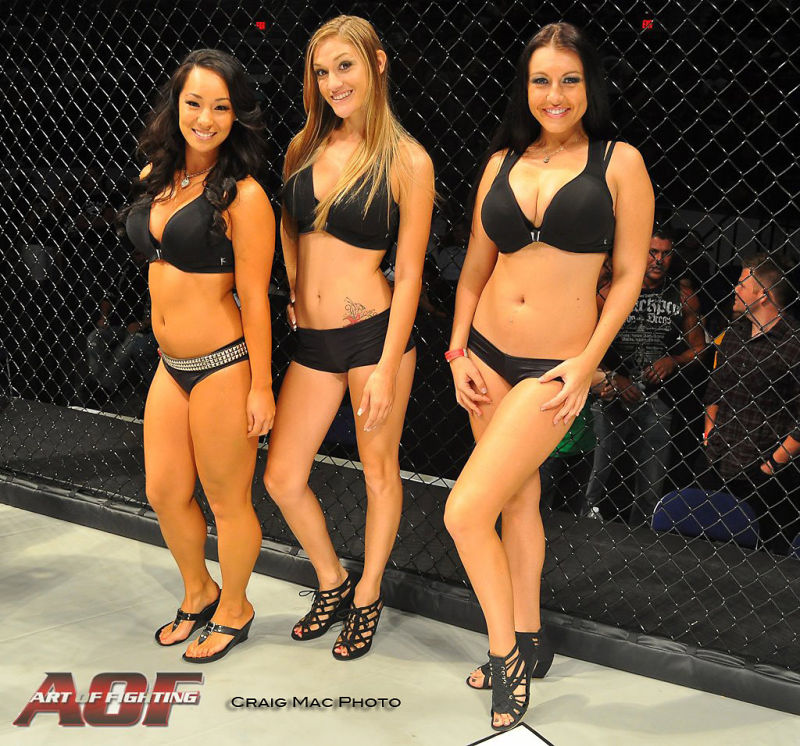 Fight Night Ring Girls