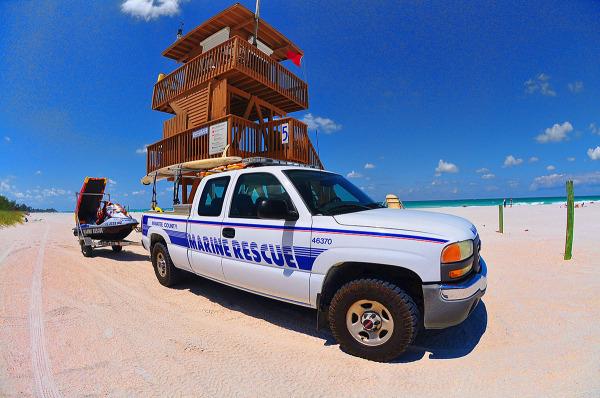 Life Guard Station...Coquina Beach, Florida