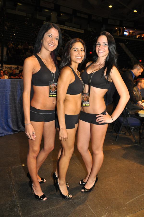 Boxing Event Ring Girls