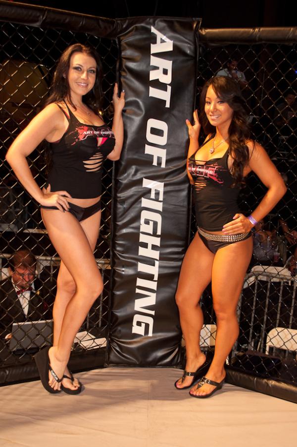 MMA Ring Girls