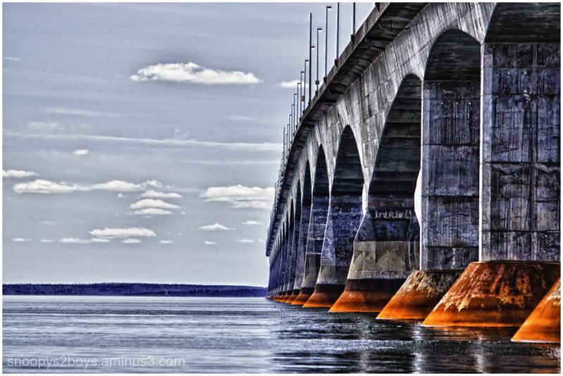 Confederation Bridge ,,,P.E.I