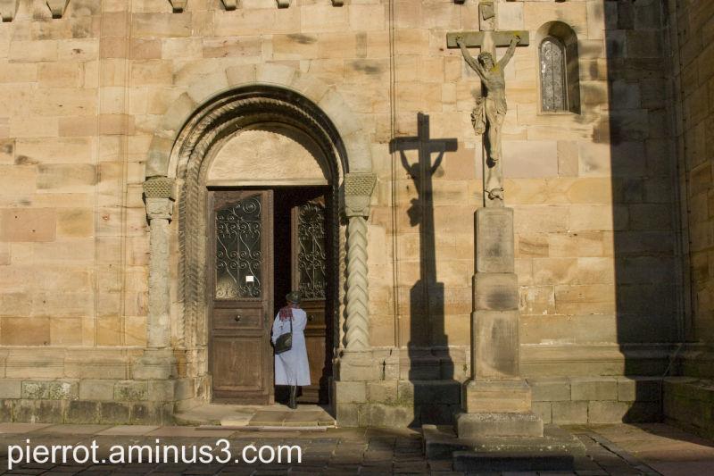Rosheim Eglise Romane