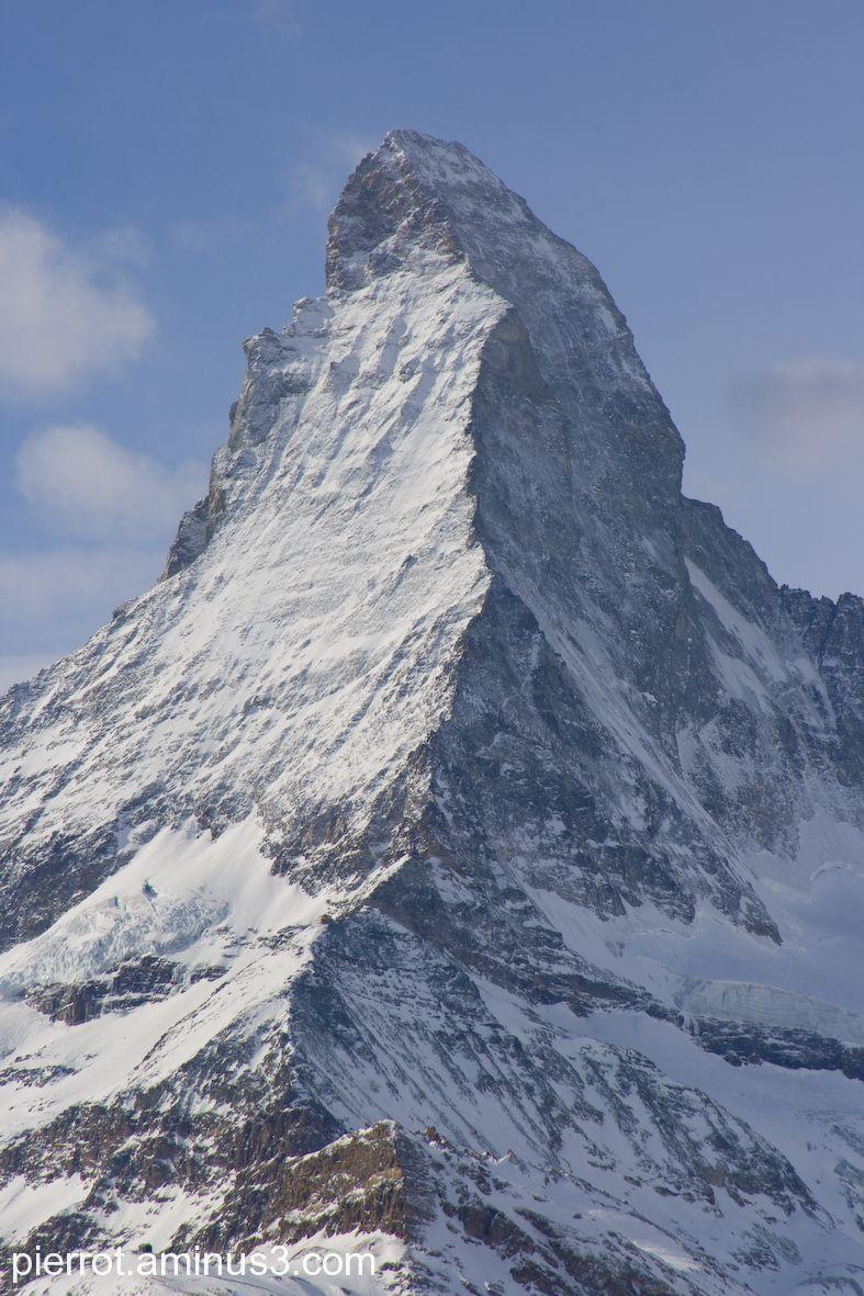 le Cervin ou Matterhorn