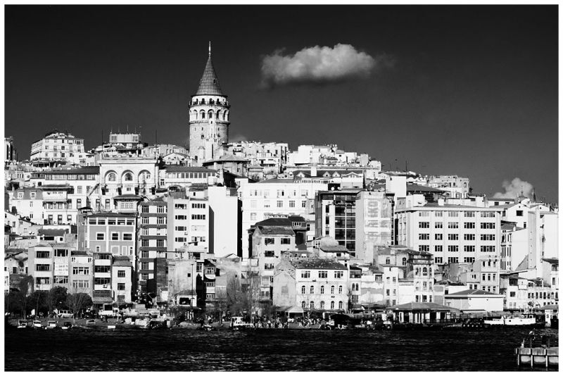 Cloud over Beyoglu