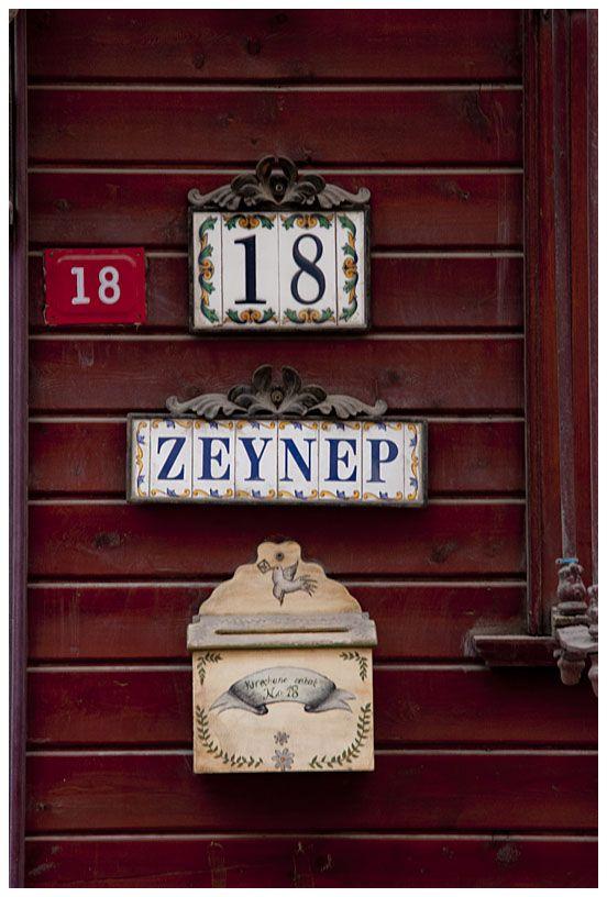 Zeynep's house...