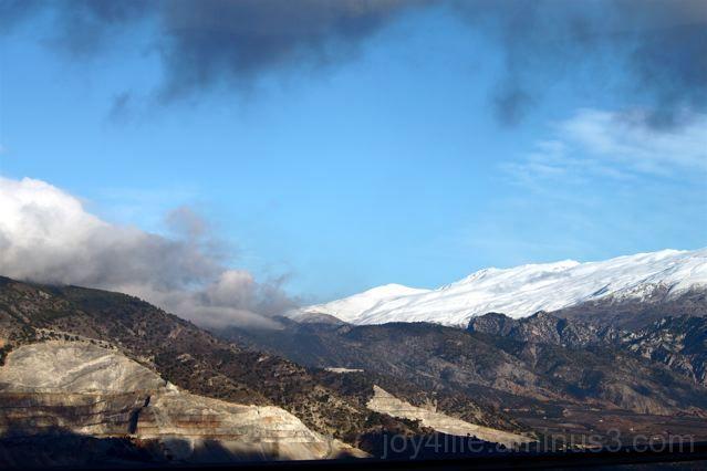 Sierra Nevada - From A Bus Window....
