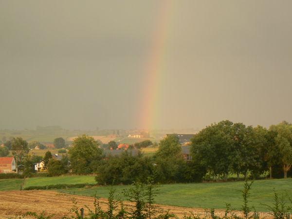 Rainbow in Nieuwkerke (Dranouter)