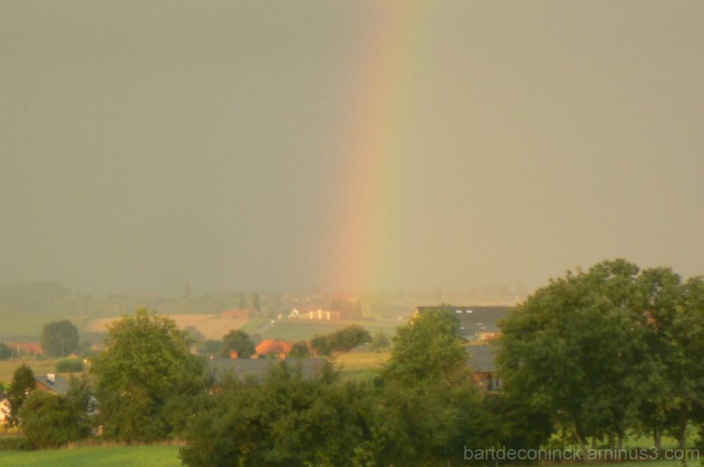 Rainbow at Nieuwkerke