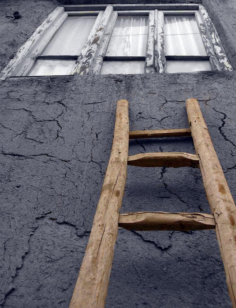 high ladder