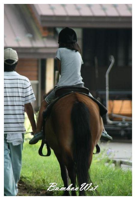 木曽馬 体験乗馬 Kiso horse