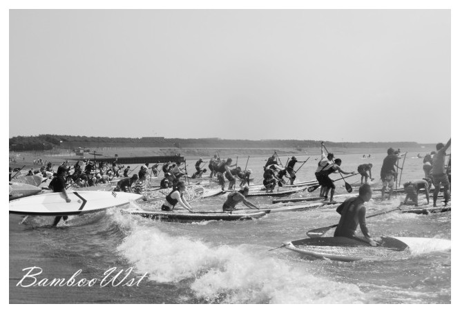 SUP paddling competition