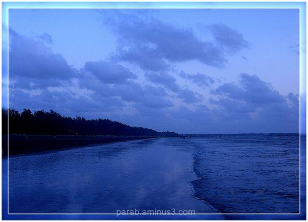 BLUE....