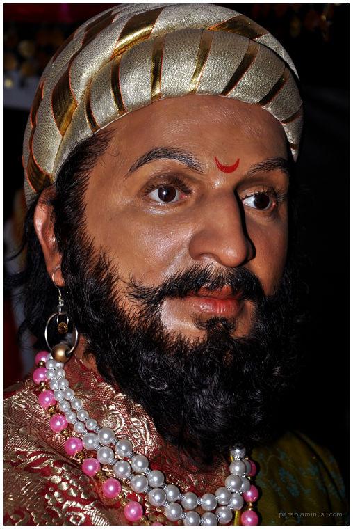 King Shivaji.