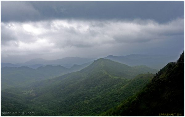Sahyadri Mountains.