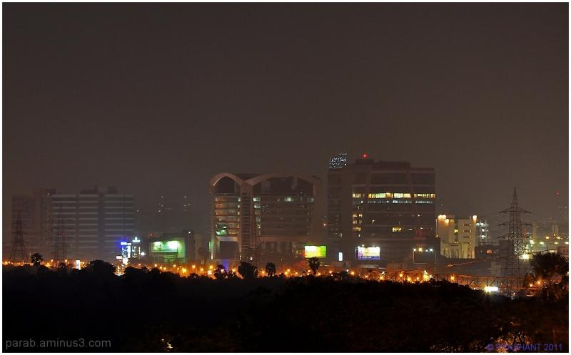 Night City...