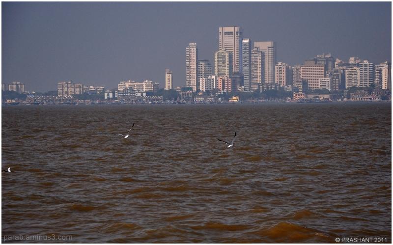MUMBAI...a floating city.