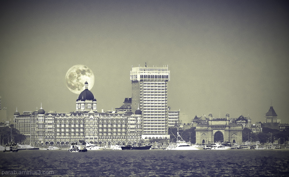 The Taj Mahal Hotel.