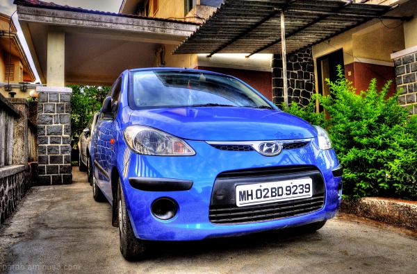 BLUE CAR...2
