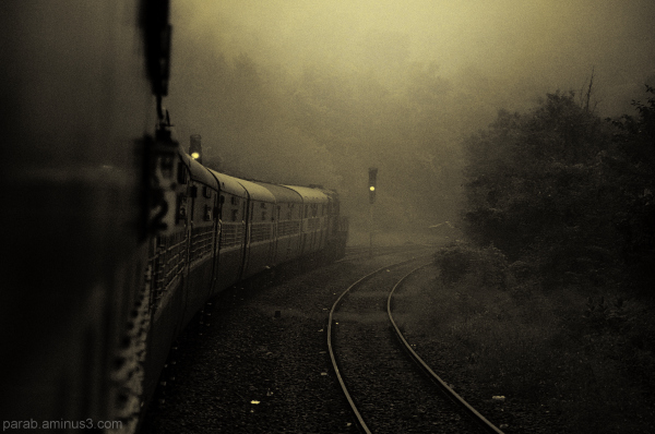 towards mist....