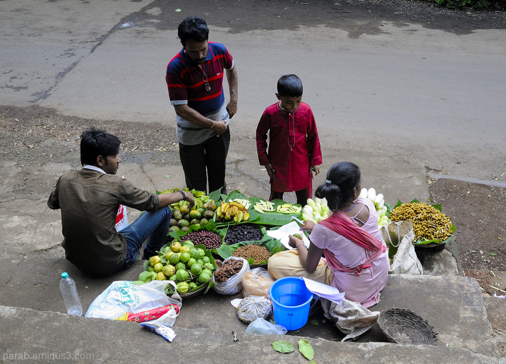 selling Wild fruits..