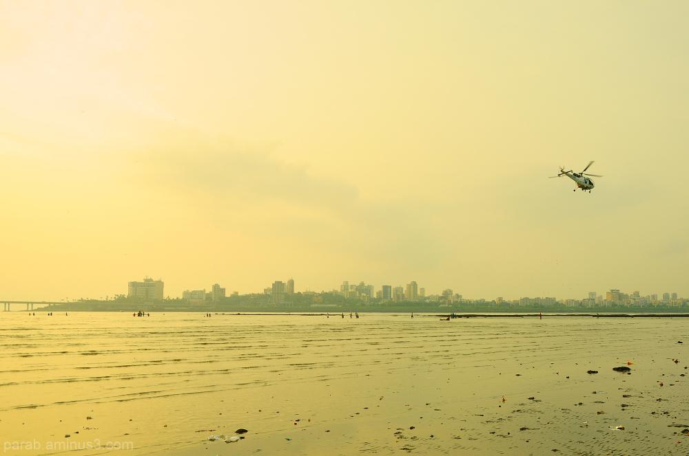 Mumbai Beach.