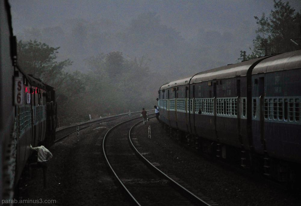 Morning journey..
