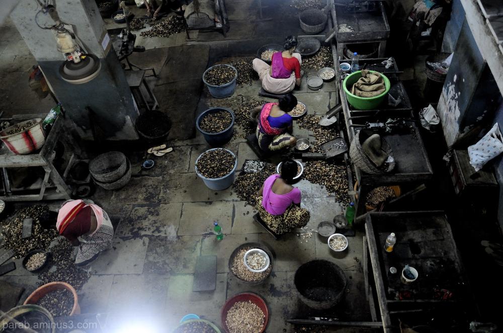 Cashew factory...2