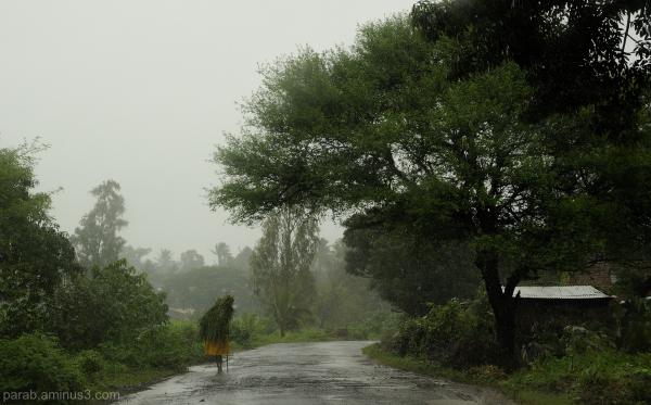 Rainy morning.