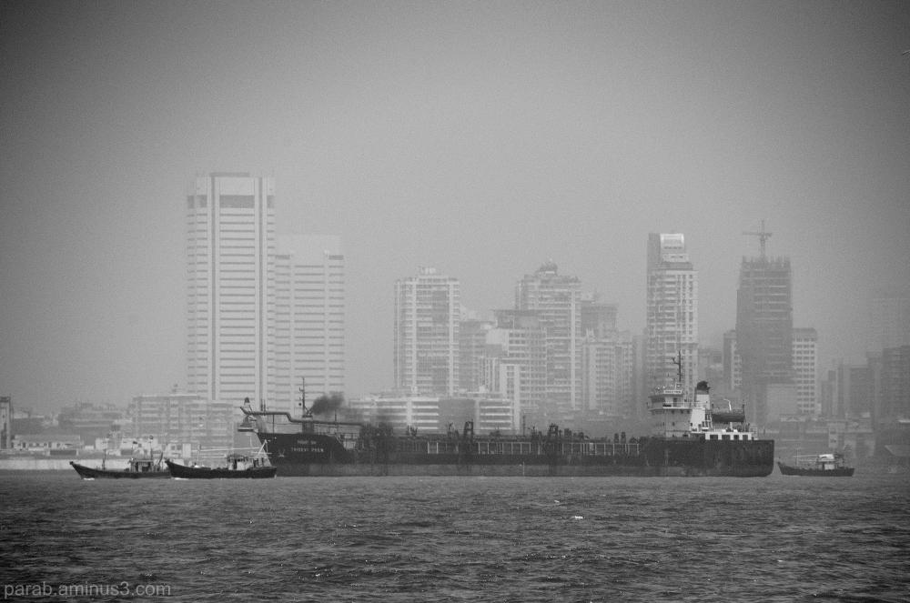 floating city.. Mumbai