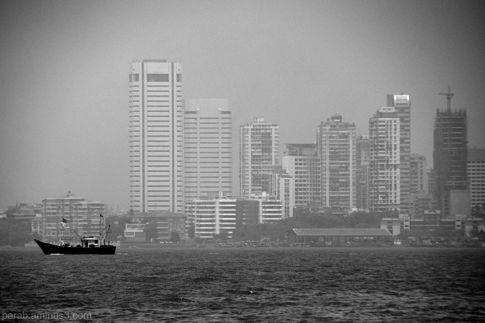 Floating city..Mumbai