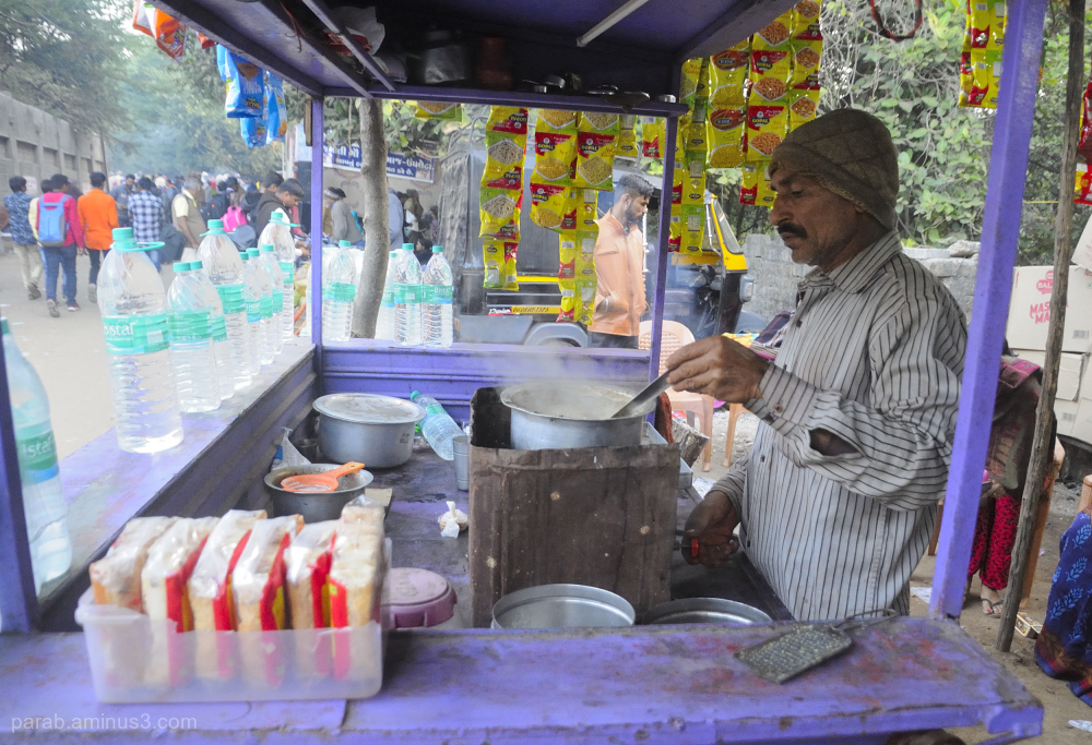 Tea stall [Cutting Chai wala]