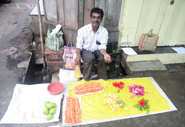 Roadside seller