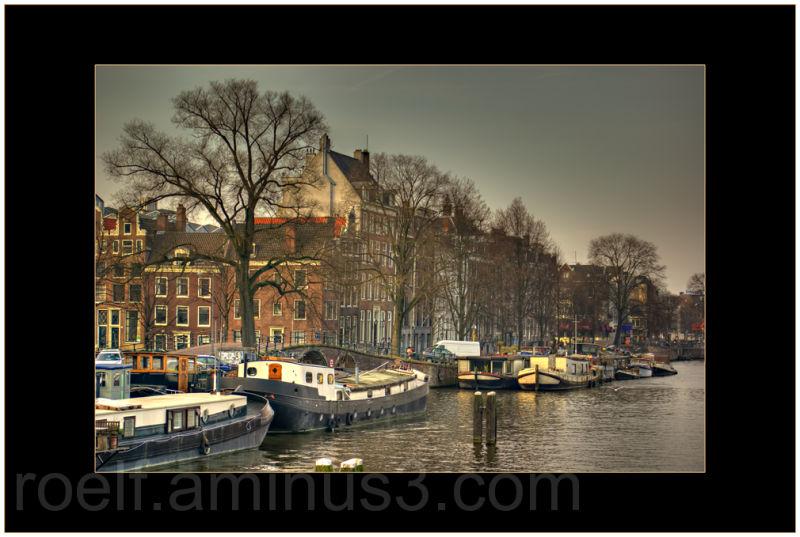 Amsterdam cityscape, hdr, hdri
