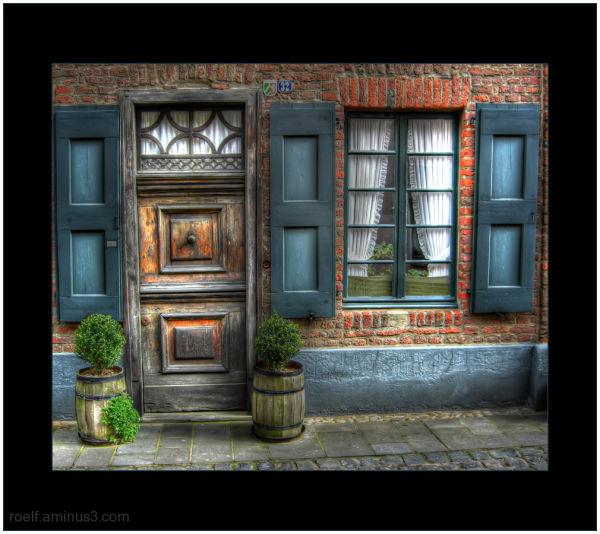 Burg linn front door