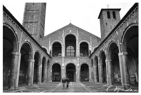 St Ambrogio Cathedral, Milano