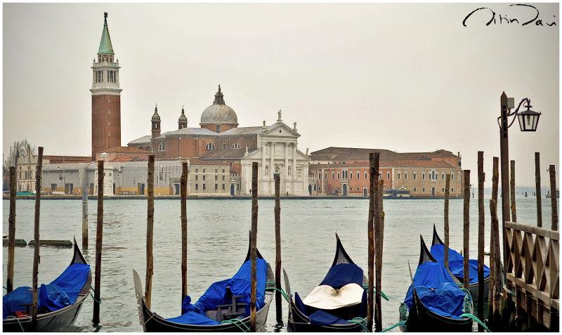 Venice on a gloomy morning