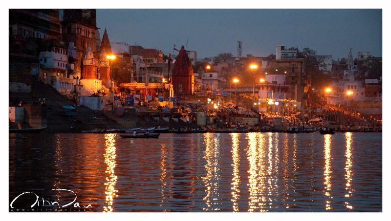 Reflections in Banaras