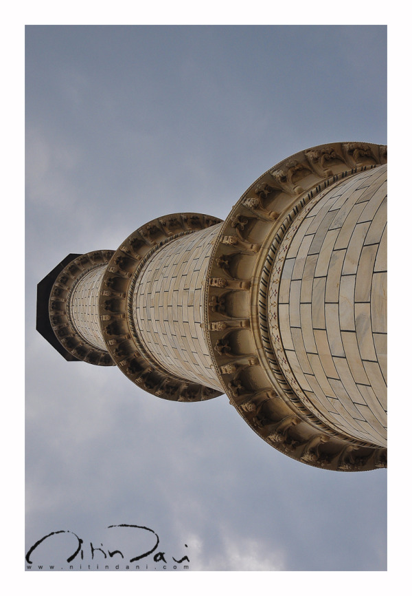 Minar & the gloomy skies