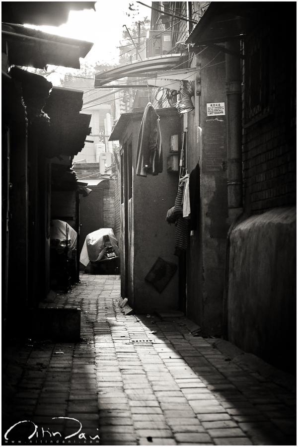 Dusk in a Beijing Street 02