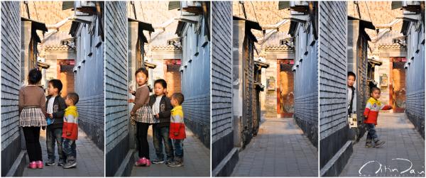 Dusk in a Beijing Street 04