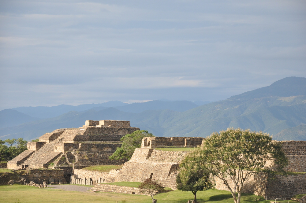 Morning in Monte Alban
