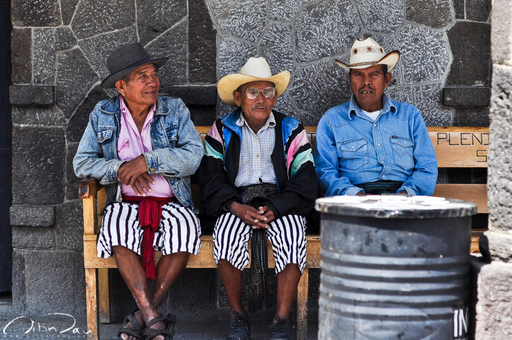 Three Musketeers of Santiago Atitlan